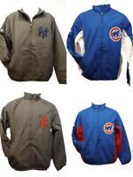 New Yankees Cubs Red Sox Mens S-M-L-XL-2XL-3XL Majestic 1-2 Piece Jacket Coat