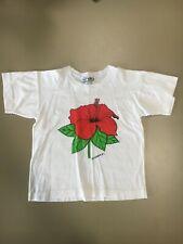 Vintage (80's) Child's St. Lucia W.I. T -Shirt Size Medium (10-12)