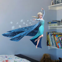 Large Wall Sticker Home Decor Removable Children Kids Decal Nursery Frozen Elsa