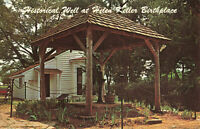 Postcard Historical Well At Ivy Green Birthplace Of Helen Keller