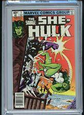 Savage She-Hulk #3 CGC 9.8 White Pages