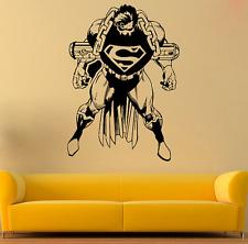 "..SUPERMAN,. size 5""1/4 x 8""3/4 'DC COMICS' decal sticker home bike car lap top"