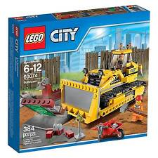 60074 BULLDOZER lego city town train NEW legos set CONSTRUCTION
