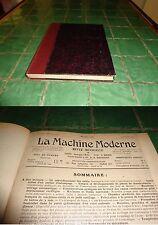 Livre la machine moderne, années 1920 à 1940 (sauf 1921, 1931)