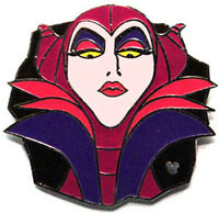 Disney Pin Collection 2007 Hidden Mickey Lanyard Villains Collection Maleficent