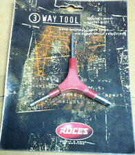 Vintage retro Roces Italy 3 Way Tool for fixing recreation fitness inline skates