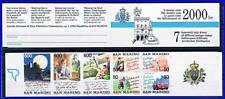 SAN MARINO = TORISM booklet MNH MOTORCYCLE, TENNIS, CARS, FOOD