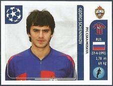 PANINI UEFA CHAMPIONS LEAGUE 2011-12- #096-CSKA MOSCOW-GEORGI SCHENNIKOV