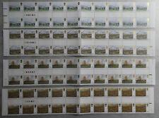 TIMBRES GRANDE BRETAGNE** Série complète en bandes de 20T. 1979 - Chevaux (A519)
