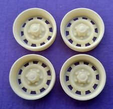 Resin 1/24 Chevy Truck Rally Wheels - Six Lug
