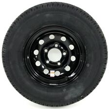 Trailer Tire & Rim ST185/80D13 Load Range C 13X4.5 5-4.5 Black Modular 3.19CB