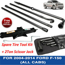 OEM Replacement For 2004-2014 Ford F150 Spare Tire Tool Kit With 2T Scissor Jack