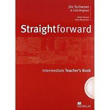 Straightforward - Teacher Book - Intermediate - With Resource CDs: Teacher's Boo