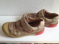 Chaussures /sandales en cuir effet vieilli - Mod8 -  Pointure 28