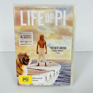 Life of Pi (DVD, 2012) Suraj Sharma Region 4 Free Postage