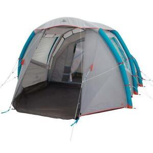 Quechua INFLATABLE CAMPING TENT AIR SECONDS 4.1 - 4 PERSON 1 BEDROOM