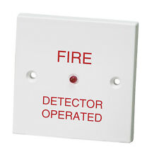 "Fire Alarm Remote Indicator / Repeater ""Fire Detector Operated"" Flush Mounting"