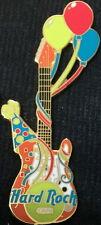 Hard Rock Cafe HAPPY BIRTHDAY Balloons ORANGE Guitar PIN (No Card) - HRC #3636