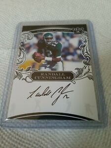 2020 2021 Sportkings Randall Cunningham On Card Auto Autograph