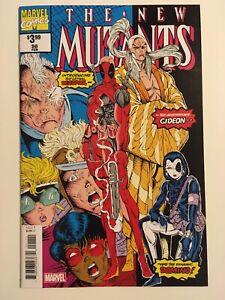 The New Mutants #98 Marvel Comics Dead Pool 1st Appearance VF/NM Facsimile