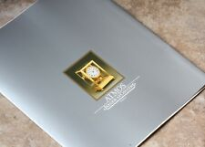 Vintage Jaeger Lecoultre Atmos brochure printed in 1979 in Switzerland 24 pages