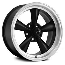 17 inch 17x9.5 Ridler 675 BLACK MACHINED wheel rim 5x4.75 5x120.65 -5
