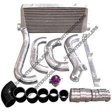 CXRacing Intercooler Kit + BOV For 86-92 Supra MK3 1JZ-GTE VVTI Stock Turbo