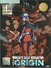 DVD Mobile Suit Gundam OVA The Origin English + Free Gift