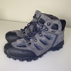 Wolverine Gore-Tex XCR Boots Lace Up Gray Blue Black Mens Size 6M 04391