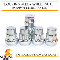 Locking Wheel Nuts 12x1.5 Bolts Tapered for Honda Jazz [Mk2] 01-08