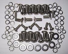 Frogeye Sprite, Midget Mk1, Sprite Mk2 Door Fitting Kit - (Stainless Steel).