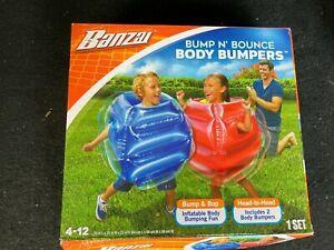 Banzai Bump n Bounce Body Bumpers - UNUSED