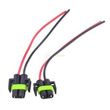 H11 H8 Female Adapter Wiring Harness Sockets Connector For Headlights Fog Lights