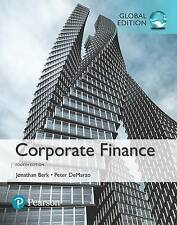 Corporate Finance by Peter DeMarzo, Jonathan Berk (Paperback, 2016)