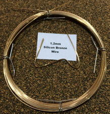 1.2mm x 10m 18 SWG Silicon Bronze Craft Wire TIG Brazing No 968  CuSi3Mn1