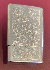 "Metal Cigarette Case 2003 Republic Tobacco LP - ""Beautiful"""