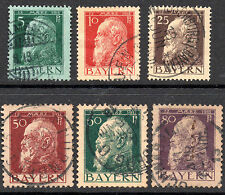Handstamped Multiple German & Colonies Stamps