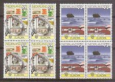 Nederland - 1979 - NVPH 1179-80 (Blokken van 4 MET PLAATFOUT 1180PM2) - Postfris