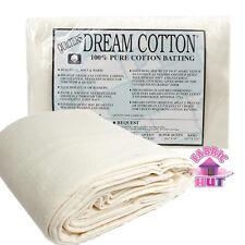"""Quilter's Dream Cotton Request Loft Double 96"""" x 93"""" Quilt Batting"""