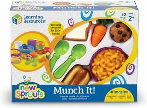 LEARNING RESOURCES NEW SPROUTS MUNCH IT PLAY FOOD Replacement Bowls