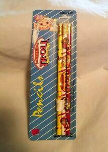 Norfin Troll Pencils 3 pack NIP - Good Luck - Collectible - Rare