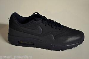 Nike Air Max 1 Ultra Moire 705297-404 Midnight Navy Black Blau