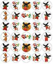 30x Bing Cbeebies Cupcake Toppers Edible Wafer Paper Fairy Cake Toppers