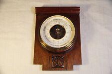 New listing Antique advertising barometer, 1897 August Ermeding, Optiker M. Gladbach
