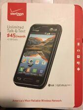 LG Optimus Zone 2 VS415PP Verizon Wireless Black, Prepaid