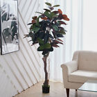 170cm Artificial Rubber Tree Large Potted Fake Plant Indoor Outdoor Topiary Home