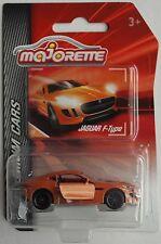 MAJORETTE Premium CARS-JAGUAR F-Type orangemet. Nuovo/Scatola Originale