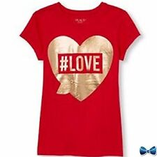 The Childrens Place Size 5-6 #Love Tee New With Tags