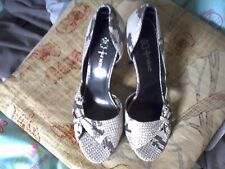 NEXT Ladies  Snake Skin Look high Heel Shoes.size4/37 as new/no box.NOT WORN.