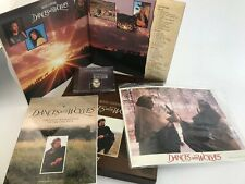Dances With Wolves LASERDISC Widescreen Collector's Box Set w/ CD, Photos, Book